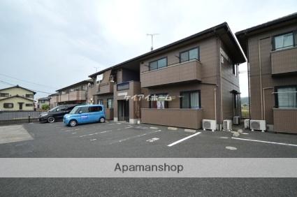 岡山県倉敷市、川辺宿駅徒歩13分の築17年 2階建の賃貸アパート