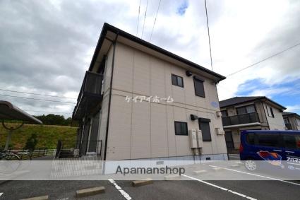 岡山県玉野市、備前田井駅徒歩7分の築20年 2階建の賃貸アパート