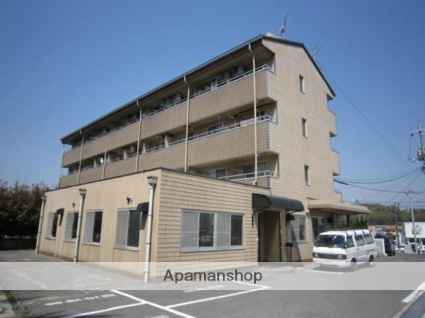 岡山県岡山市南区、妹尾駅徒歩16分の築29年 4階建の賃貸マンション