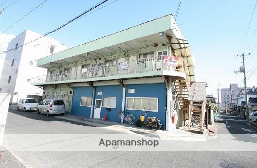 岡山県岡山市北区、岡山駅徒歩16分の築49年 2階建の賃貸アパート