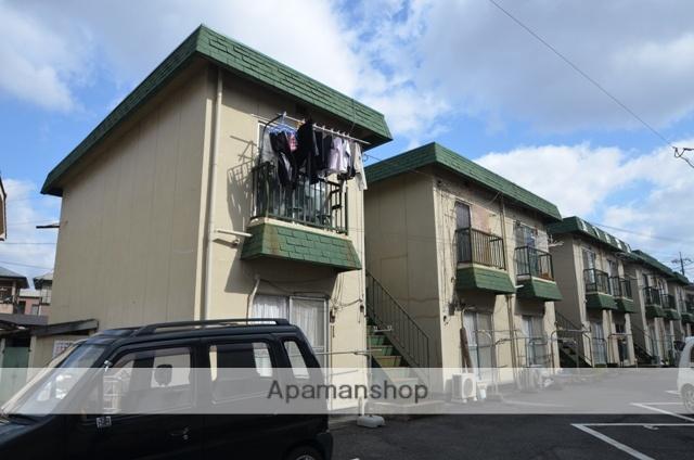 岡山県岡山市南区、備前西市駅徒歩18分の築40年 2階建の賃貸アパート
