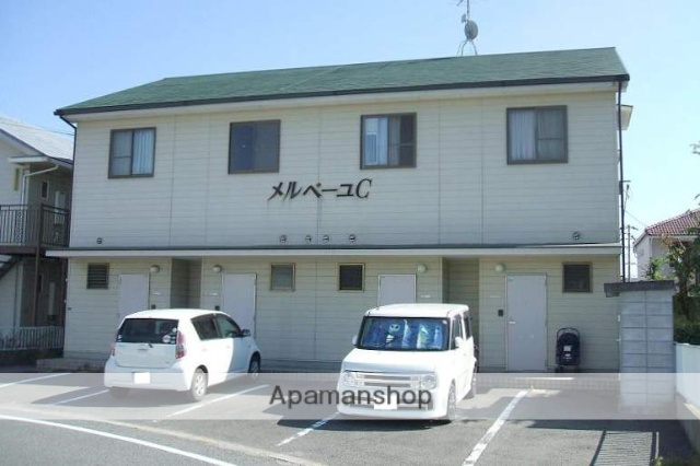 岡山県岡山市南区、門田屋敷駅徒歩48分の築20年 2階建の賃貸テラスハウス