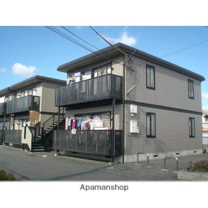 岡山県倉敷市、倉敷駅バスバス25分東高地下車後徒歩3分の築17年 2階建の賃貸アパート
