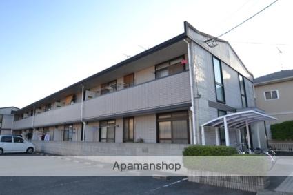 岡山県倉敷市、茶屋町駅徒歩12分の築20年 2階建の賃貸マンション