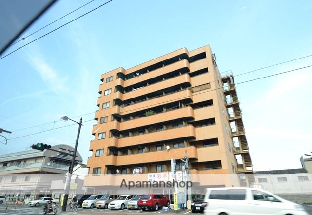 岡山県岡山市北区、大雲寺前駅徒歩4分の築18年 8階建の賃貸マンション