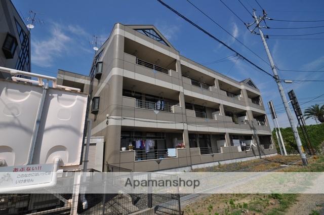 岡山県岡山市南区、大元駅徒歩48分の築18年 3階建の賃貸アパート