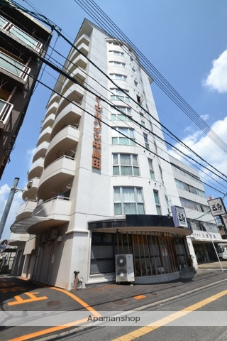 岡山県岡山市北区、岡山駅徒歩13分の築29年 10階建の賃貸マンション