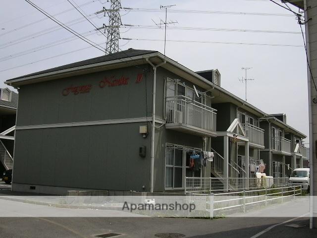 岡山県岡山市中区、東山駅徒歩40分の築25年 2階建の賃貸アパート