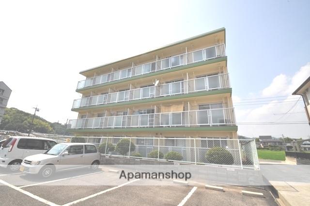 岡山県岡山市北区、備前三門駅徒歩48分の築31年 4階建の賃貸マンション