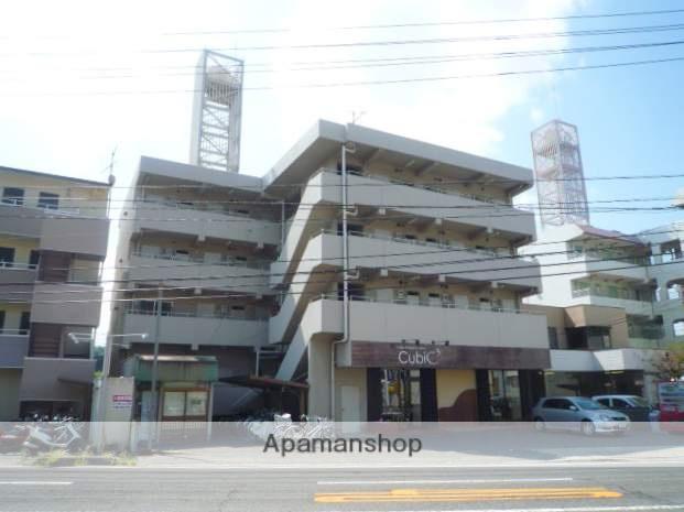 岡山県岡山市北区、岡山駅徒歩40分の築34年 4階建の賃貸マンション
