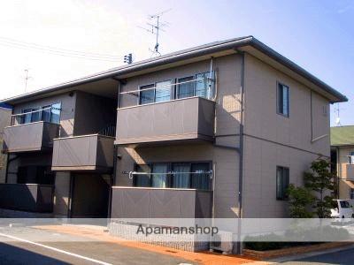 岡山県倉敷市、茶屋町駅徒歩11分の築17年 2階建の賃貸アパート