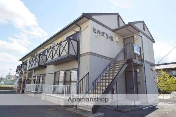 岡山県倉敷市、倉敷駅両備バスバス8分中島口下車後徒歩1分の築21年 2階建の賃貸アパート