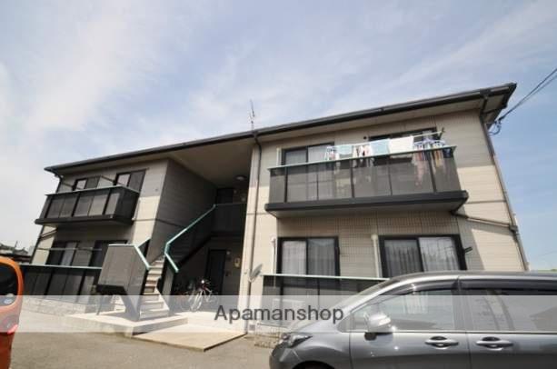 岡山県倉敷市、倉敷駅バス19分高速道下下車後徒歩3分の築17年 2階建の賃貸アパート