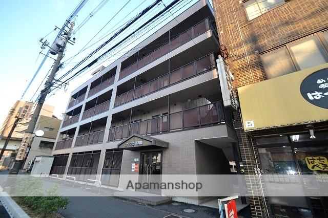 岡山県岡山市北区、岡山駅徒歩9分の築18年 4階建の賃貸マンション