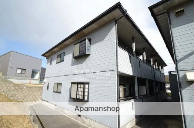 岡山県都窪郡早島町、早島駅徒歩13分の築21年 2階建の賃貸アパート
