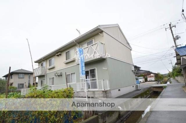 岡山県倉敷市、栄駅徒歩18分の築24年 2階建の賃貸アパート