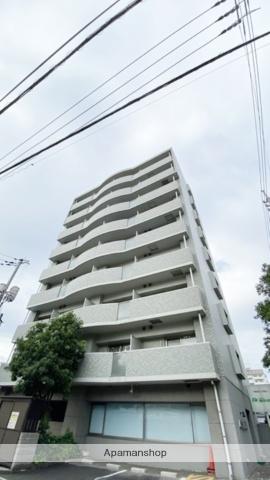 岡山県岡山市北区、岡山駅徒歩16分の築15年 9階建の賃貸マンション