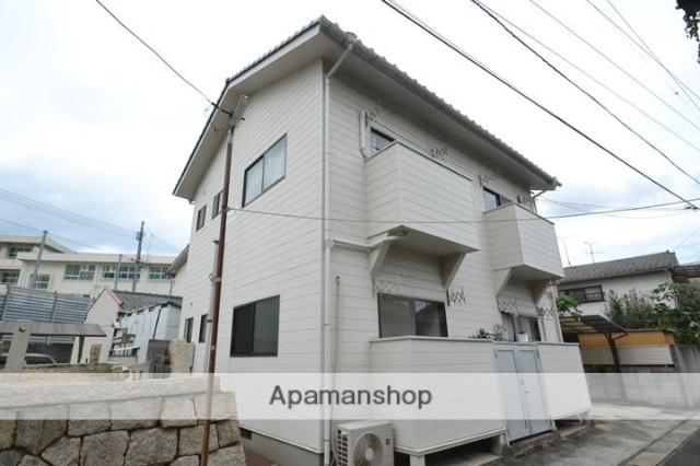 岡山県岡山市中区、小橋駅徒歩10分の築21年 2階建の賃貸アパート