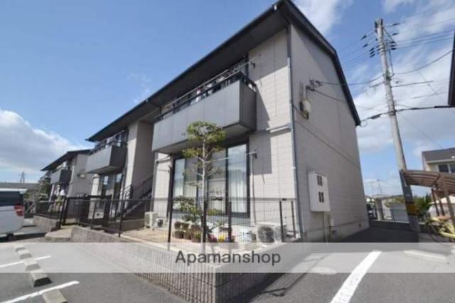 岡山県岡山市南区、妹尾駅徒歩17分の築15年 2階建の賃貸アパート