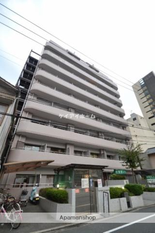 岡山県岡山市北区、岡山駅徒歩17分の築27年 11階建の賃貸マンション