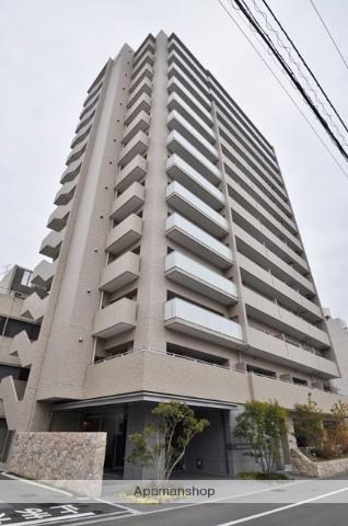 岡山県岡山市北区、西川緑道公園駅徒歩4分の築3年 14階建の賃貸マンション