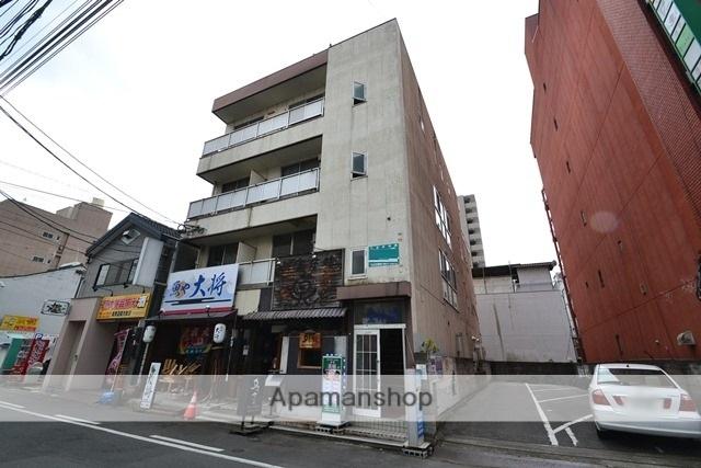 岡山県岡山市北区、岡山駅徒歩7分の築30年 4階建の賃貸マンション