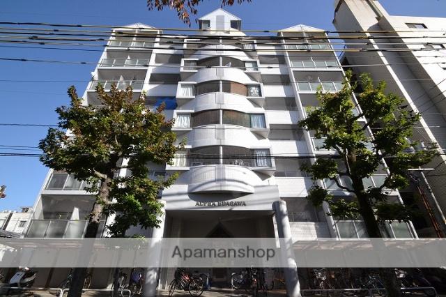 岡山県岡山市北区、岡山駅徒歩20分の築28年 7階建の賃貸マンション