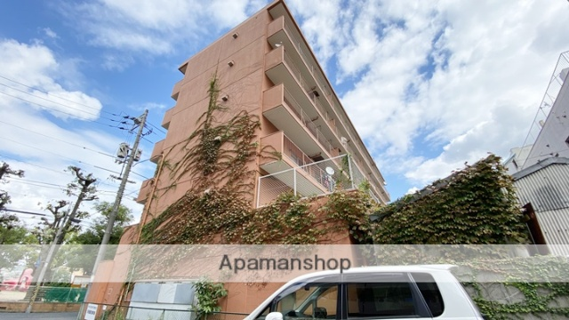 岡山県岡山市北区、岡山駅徒歩15分の築36年 6階建の賃貸マンション
