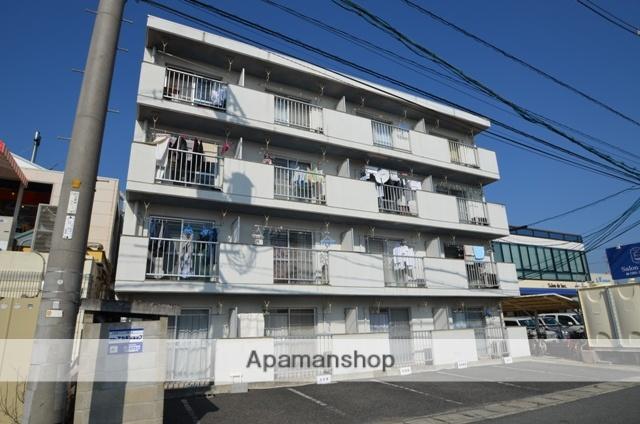 岡山県岡山市北区、岡山駅徒歩54分の築27年 4階建の賃貸マンション