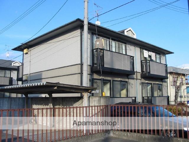 岡山県浅口市、金光駅徒歩10分の築21年 2階建の賃貸アパート