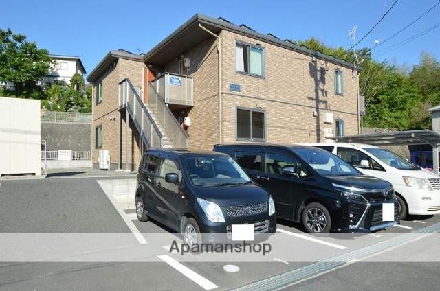 岡山県倉敷市、吉備真備駅徒歩7分の築2年 2階建の賃貸アパート