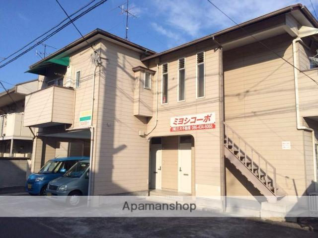 岡山県都窪郡早島町、早島駅徒歩20分の築23年 2階建の賃貸アパート
