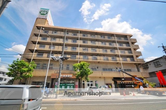 岡山県岡山市北区、岡山駅徒歩44分の築32年 6階建の賃貸マンション