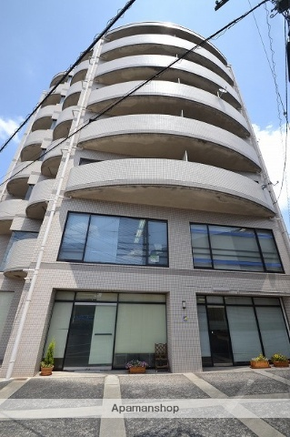 岡山県岡山市北区、岡山駅徒歩38分の築25年 7階建の賃貸マンション