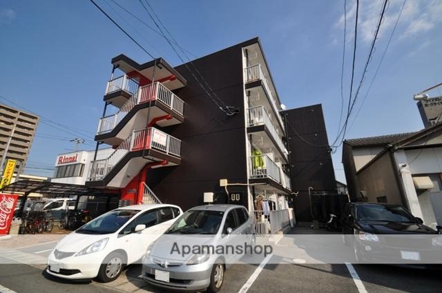 岡山県岡山市北区、北長瀬駅徒歩18分の築28年 4階建の賃貸マンション