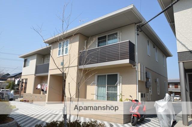 岡山県倉敷市、久々原駅徒歩15分の築5年 2階建の賃貸アパート