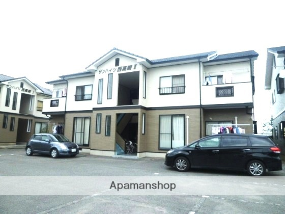岡山県岡山市南区、迫川駅徒歩20分の築18年 2階建の賃貸アパート
