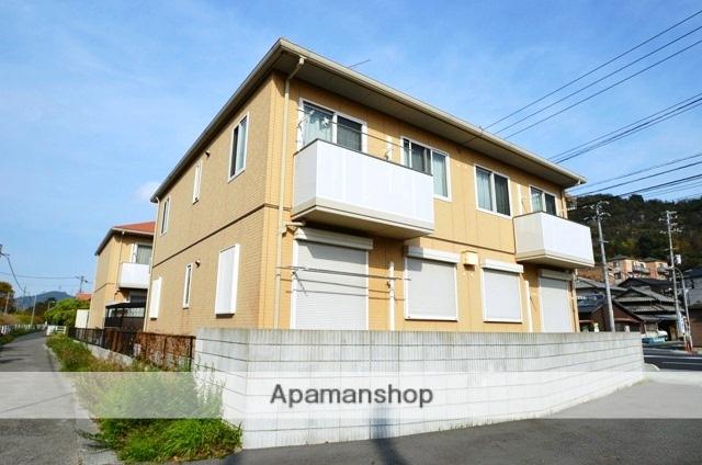 岡山県玉野市、備前田井駅徒歩17分の築11年 2階建の賃貸アパート