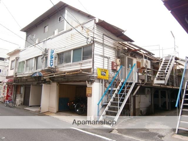 岡山県岡山市北区、岡山駅徒歩5分の築41年 2階建の賃貸アパート