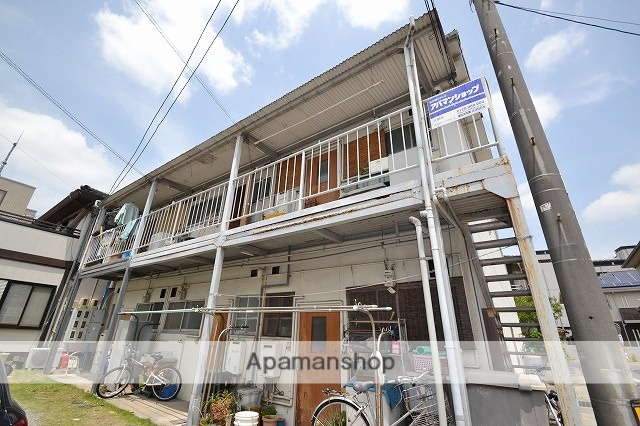 岡山県岡山市南区、大元駅徒歩17分の築27年 2階建の賃貸アパート