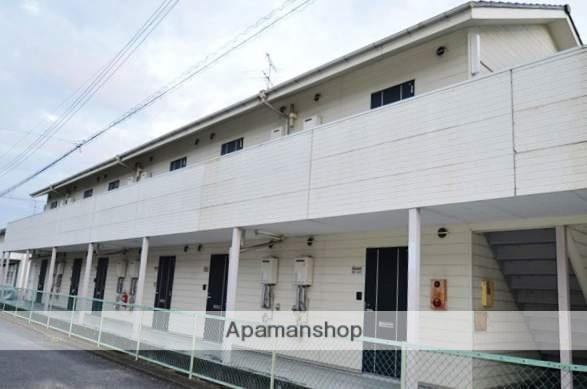 岡山県倉敷市、庭瀬駅徒歩45分の築25年 2階建の賃貸アパート