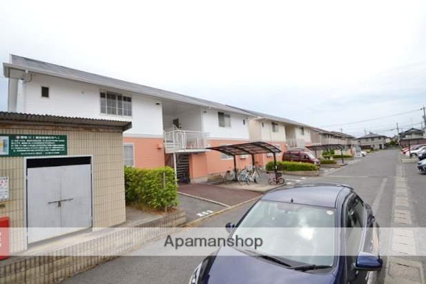 岡山県岡山市北区、庭瀬駅徒歩24分の築22年 2階建の賃貸アパート