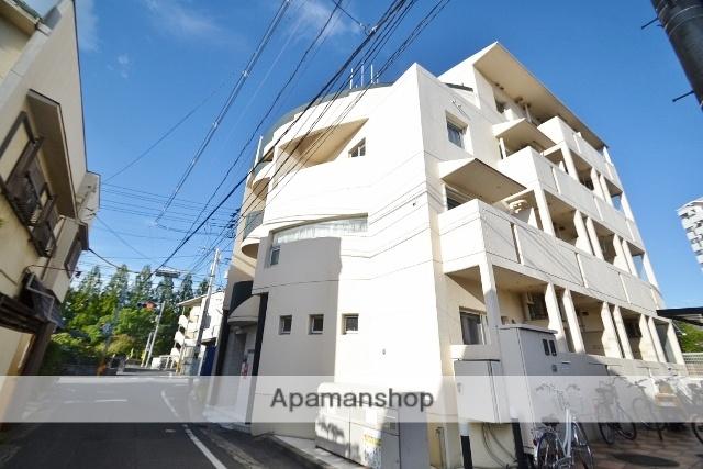 岡山県岡山市北区、岡山駅徒歩12分の築28年 4階建の賃貸マンション