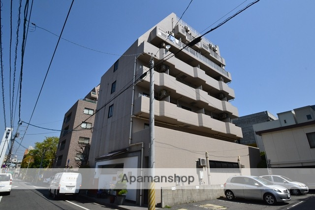 岡山県岡山市北区、岡山駅徒歩14分の築20年 7階建の賃貸マンション