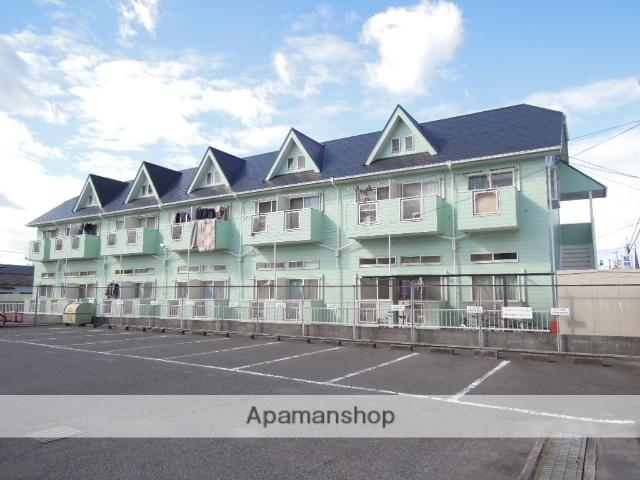 岡山県倉敷市、弥生駅徒歩15分の築25年 2階建の賃貸アパート