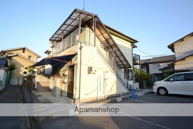 岡山県岡山市北区、西川原駅徒歩36分の築21年 2階建の賃貸アパート