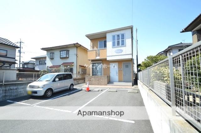 岡山県倉敷市、球場前駅徒歩19分の築10年 2階建の賃貸アパート
