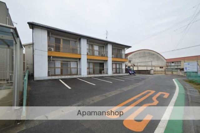 岡山県倉敷市、倉敷駅徒歩18分の築18年 2階建の賃貸アパート