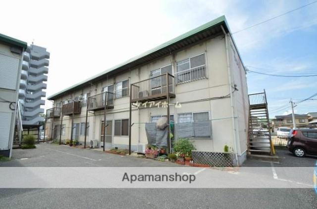 岡山県倉敷市、球場前駅徒歩17分の築39年 2階建の賃貸アパート