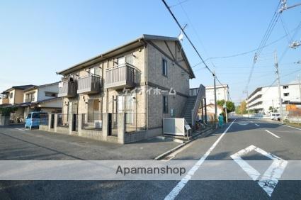 岡山県倉敷市、弥生駅徒歩4分の築13年 2階建の賃貸アパート